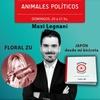 "Logo Floral Zu en Radio con vos 89.9 - ""Animales Políticos"" con Maxi Legnani"