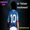 """Logo ROMPIERON TODO: """"Un vaticano Maradoneano"""" // Roberto rock y Ale Prospero- 4-11-20"""
