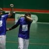 Logo Los hermanos Andreasen, campeones del mundo en pelota paleta