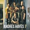"""Logo Anuncio y tema del CD SIETE de Andrés Hayes en la columna  """"en el mundo del Jazz"""" de Claudio Parisi"""