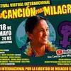 """Logo """"Participar del festival es un imperativo moral, fue nuestra bandera la de los presos políticos"""""""
