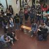 Logo Segunda asamblea de estudiantes utn frsf por recortes presupuestario