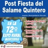 Logo María Laura Santillan Pos Fiesta del Salame Quintero
