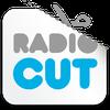 """Logo """"RadioCut ya tiene el audio"""" / """"Vamos a subir el corte también a RadioCut"""""""