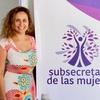 Logo Alejandra Oehrens, Subsecretaria de las Mujeres, Municipalidad de Neuquén