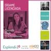 """Logo ESPLENDI-2 El magazine más dinámico de la tarde y Daniela Rago """"Dígame LIcenciada"""" Hoy: #Mudanzas"""