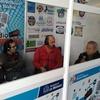 """Logo Mario Ortiz (CGT Matanza) sobre presentación de """"Textil Oeste"""" en la Feria del Libro de La Matanza"""