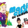 """Logo """"La que limpia"""" El tema de Martincito a Norita"""