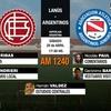 Logo Comentario Nicolás Paul Lanús vs. Argentinos FECHA 25 SUPERLIGA
