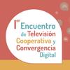 Logo Encuentro de TV Cooperativa y Convergencia Digital