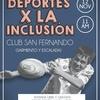Logo Deportes x la inclusión en FM LaUni (Santiago Cerruti)