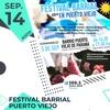 Logo Festival en Puerto Viejo de Paraná el Domingo 15 de septiembre