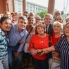 Logo Juan Zabaleta estuvo presente en la Casa Rosada junto a Alberto Fernandez