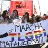 Logo Tercera marcha del Orgullo Matancera TLGMBINB.