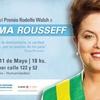 Logo Entrevista a Florencia Saintout acerca del Premio Rodolfo Walsh a Dilma Rousseff