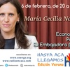 """Logo """"El Acuerdo Económico con Europa solo perjudicaría a la Argentina,ellos son muy buenos negociadores"""""""