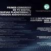 Logo I Congreso Nacional de TV DIGITAL, NUEVAS PLATAFORMAS y CONTENIDOS AUDIOVISUALES