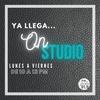 Logo Studio 91.9 - On Studio - Edgardo Quiroga / Sec. Gral. Sitram San Lorenzo