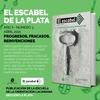 Logo Tercer número de la revista El Escabel, de la Escuela de Orientación Lacaniana de La Plata