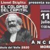 Logo Lionel Stiglitz sobre el libro El colapso del capital en Radio Gráfica