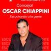 Logo El empresario Oscar Chiappini, pre candidato a concejal de la ciudad de Rosario.