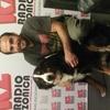 Logo Entrevista a Ariel Gauna: Viajó en bici-carro con su perra Mina hasta Chile.