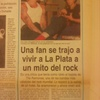 Logo Lisandro Ibarralaza nos recuerda la histórica visita de Dee Dee Ramone a la ciudad
