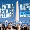 """Logo G.Romano: """"Porque La Patria está en Peligro"""""""