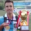 Logo #Entrevista LU14 David Peralta concejal de Piedra Buena y jugador de Los Murciélagos