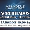 Logo Augusto Castro entrevistado en Amadeus FM 91.1