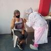 Logo Marta se vacunó en el Club Los Andes de Lomas de Zamora