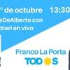 Logo Franco La Porta en La Hora de Alberto de Radio El Mundo AM1070