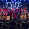 Logo La Bomba de Tiempo en Lomas - Luciano Larocca, música.