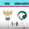 Logo Gol de Rusia: Rusia 1 - Arabia Saudita 0 - Relato de @laredneuquen