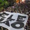 Logo Ele não, un grito de repudio a Jair Bolsonaro