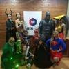 Logo Entrevista a Los Superhéroes Solidarios