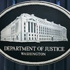 Logo US Justice Department binatikos!