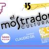 Logo Quique Pesoa en El Mostrador cultural, celebrando la radio