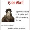 Logo Entrevista a Alberto Walter Marengo especialista en Leonardo Da Vinci