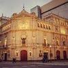 Logo Teatro Cervantes, 100 años: Patricio Sarmiento