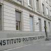 """Logo """"Respetamos el protocolo del Politécnico para la pandemia"""""""