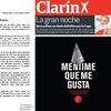 Logo Axel Kicillof desmiente la tapa de Clarín
