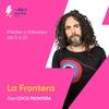 Logo Ca7riel en La Frontera comentando los triunfos de Boca y River