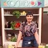 """Logo """"Nutrirnos con los alimentos"""", Erica Díaz - Cocina medicinal."""