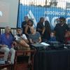 Logo Radio Abierta: Norberto Gonzalo, Hugo Yasky y Gabi Rovito