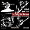 Logo La Funky Fun Machine en Pily con Pilas - FM Latina Rosario