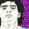 Logo Las verdades del 10, serie web homenaje a Maradona