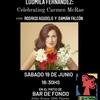 Logo Víctor Hugo anuncia el concierto de Ludmila Fernández: Celebrating  Carmen McRae