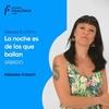 """Logo Inés Cuello en """"La noche es de los que bailan"""""""