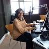 "Logo Mercedes Najman, actriz y socióloga en ""Nuestra Mirada"", FM Secla 106.1"